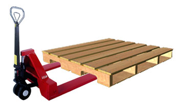 4-Way Pallet Entry in a 3-string pallet