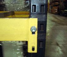 t-bolt selective pallet rack