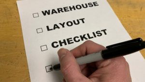 Warehouse Layout Checklist