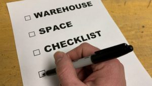 Warehouse Space Checklist & Requirements