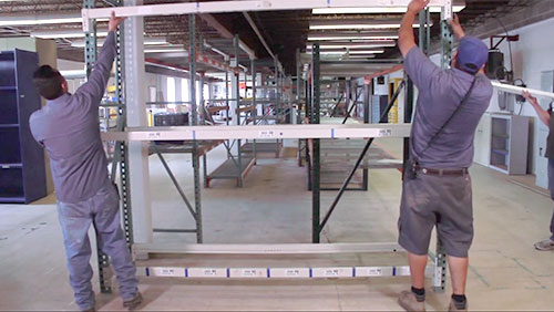 How to Install Pallet Rack