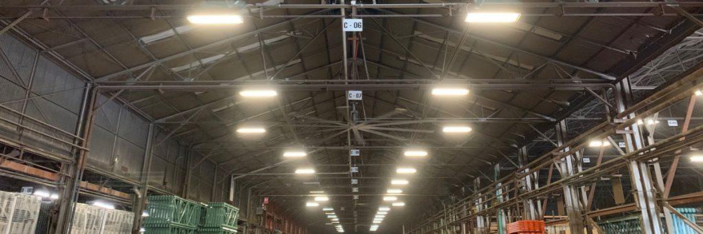 Warehouse lighting surveys & solutions