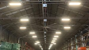 Warehouse lighting surveys & solutions