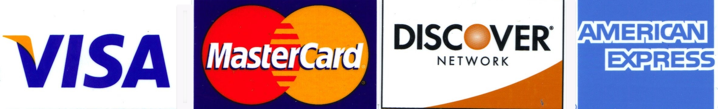 Accepted Credit Cards Image
