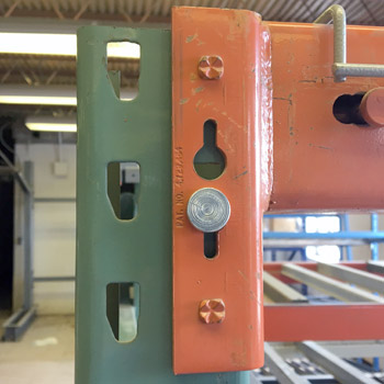 Safety J-Locks for Pallet Rack Beams
