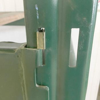 Safety Locks for Ridg-U-Rak Beams