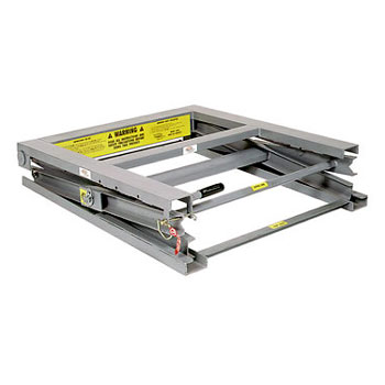 "Adjustable Pallet Stand, 34"" Top Height"