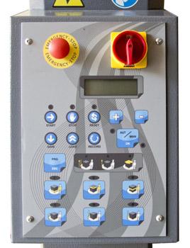 Semi-Automatic Stretch Wrap Machine, 4400 lb. Capacity