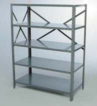 Open Industrial Shelving