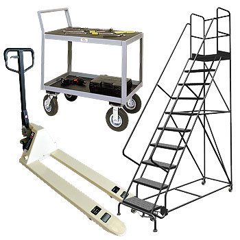 Pallet Jacks, Carts & Ladders
