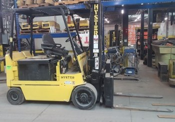 Used Hyster E100XL3 Sit Down Rider Forklift