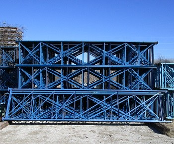 "42"" x 240"" Used Structural Pallet Rack Upright"
