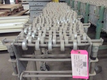 Used Gravity Flex Skate Wheel Conveyor 13