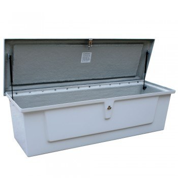 "60x20x18"" Lockable Fiberglass Storage Case"