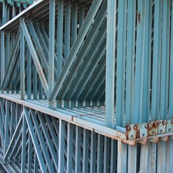 "42"" x 180"" Used Structural Pallet Rack Upright"