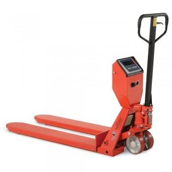 "48"" Long Forks - 22-3/8"" Scale Pallet Trucks - Pallet Truck with Scale and Printer"