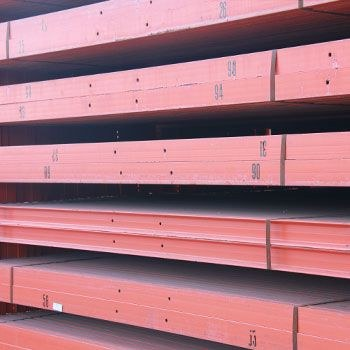 "101 1/2"" x 3"" Used Structural Pallet Rack Beam"