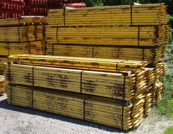 "95 5/8"" x 4"" Used Structural Beam"
