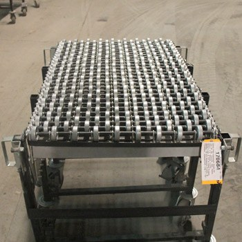 Used Gravity Flex Skate Wheel Conveyor 24 1/2