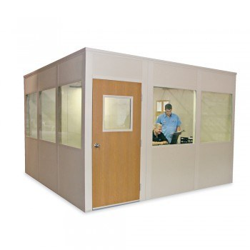 10x10' Versa-King Modular 4-Wall Office