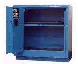 30 Gal. Acid & Corrosive Storage Cabinet, Self-Latch Safe-T-Door