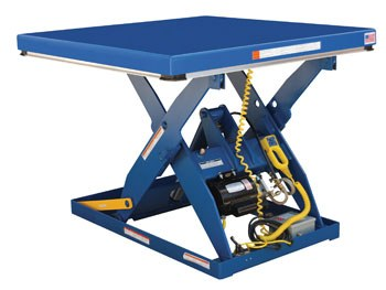 "48"" x 48"" Electric Hydraulic Lift Table- 4000 lb. Capacity"