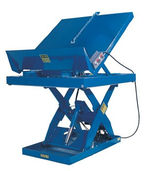 "48"" x 48"" Lift and Tilt Scissor- 5000 lb. Capacity"