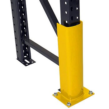 "12"" Bolt-to-Floor Post Protector"