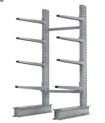 "192"" x 48"" Single Sided Cantilever Starter Bay- (4) 48"" Arm Levels"