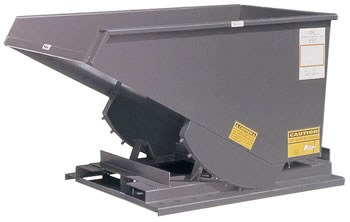 2 Yard Self-Dumping Hopper, 6000 lb. Capacity (Quick Ship)