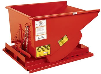 1/4 Yard Self Dumping Hopper, 2000 lb. Capacity (Quick Ship)