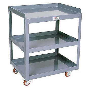 "20"" x 27"" Tool Cart- 3 Shelves"