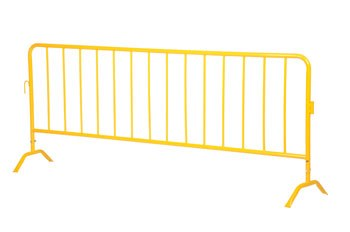 Yellow Barrier w/Curved Feet