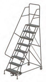 15 Step Serrated Standard Angle Base Ladder