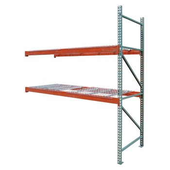 "42"" x 120"" x 144"" Pallet Rack Adder - 6 WireDecks"