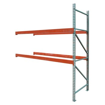 "48"" x 192"" x 144"" Pallet Rack Adder - No Deck"